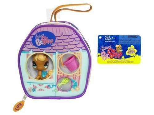 Littlest Pet Shop Mini Accessory Purse Horse Action Figure