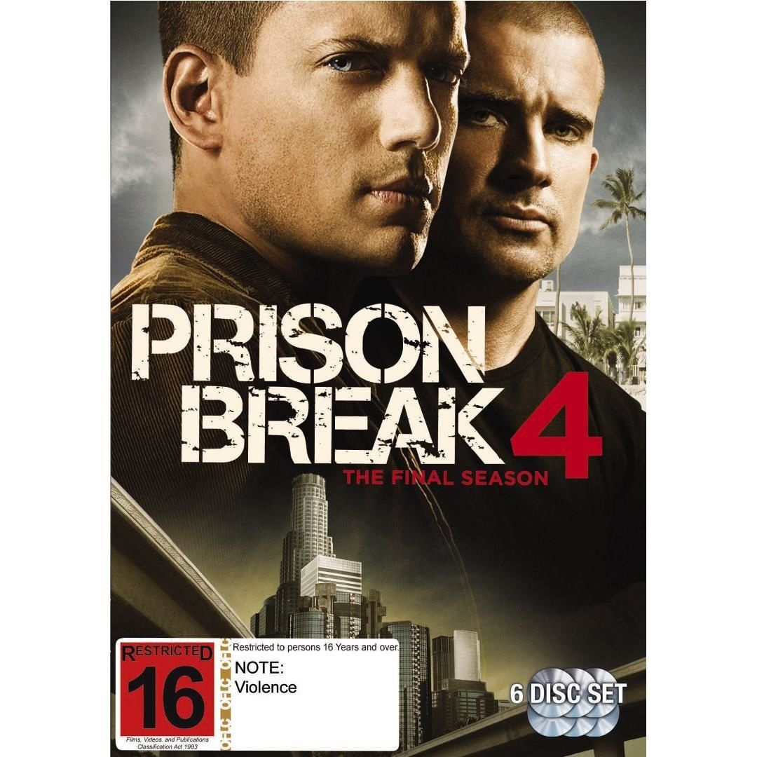 Prison Break Season 4 6 Discs By Nz Movies Shop Online For Movies Dvds In The United States