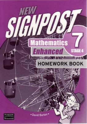 New signpost maths enhanced 7 homework book homework machine 2