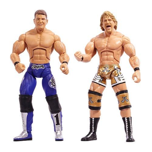 TNA Impact Jakks Wrestling Deluxe Cross the Line Jeff Jarrett Figure WWE Classic