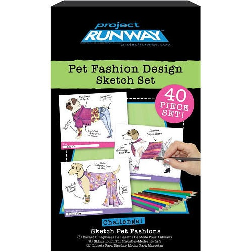 Project Runway Pet Fashion Design Sketch Set By Fashion Angels Shop Online For Toys In The United States