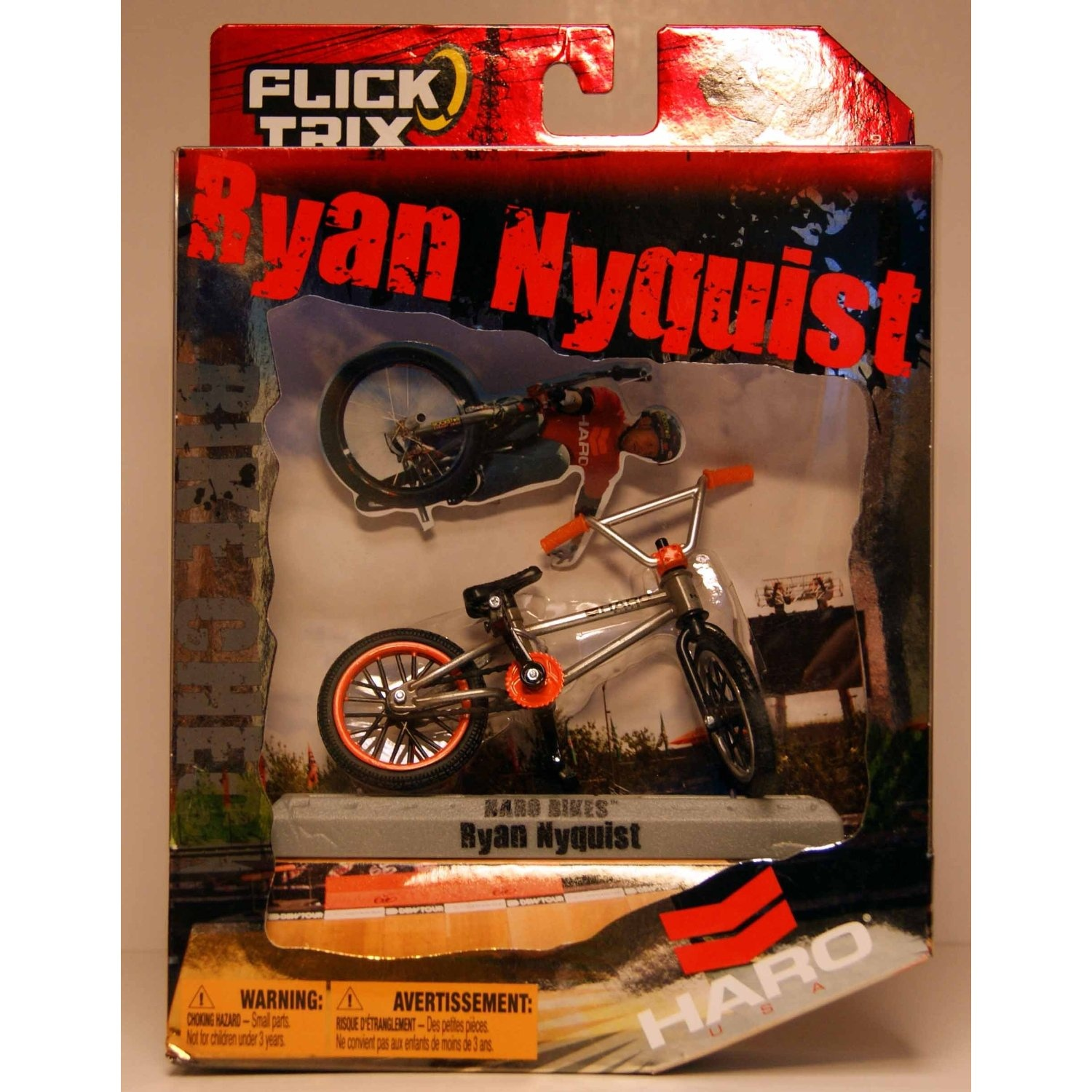 by Spin Master Flick Trix Pro Rider Ryan Nyquist