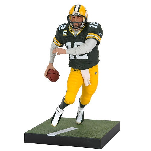 Green Bay Packers NFL McFarlane Toys Sports Picks Series 8 Action Figure Ahman Green White Jersey Variant