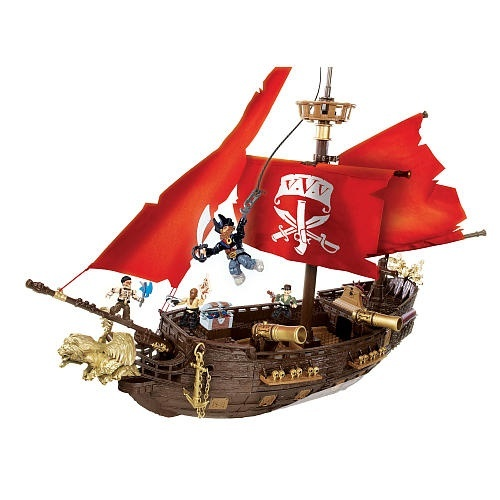 Mega Bloks Pyrates - Captain Cutlass' Stormstalker (95523) by MEGA Brands -  Shop Online for Toys in the United States