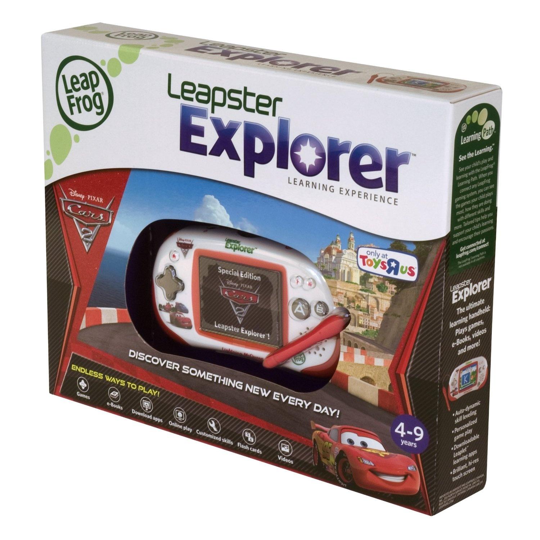 Leap Frog Leapster Explorer Handheld System Pixar Cars Lightning Mcqueen