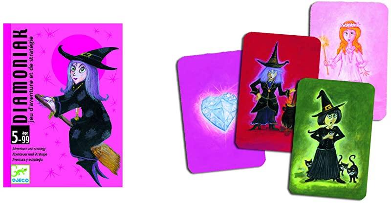 Diamoniak by Djeco Djeco Card Game