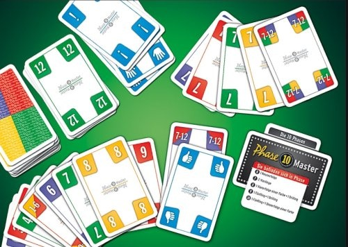 Master phase 10 Rules of