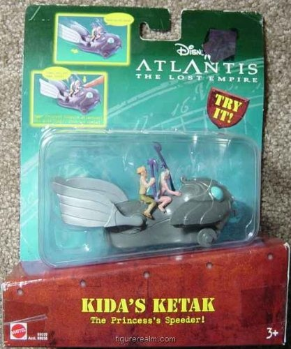 2001 Mcdonalds Atlantis Princes Kida on Ketak Happy Meal Toy #2 MIP Disney