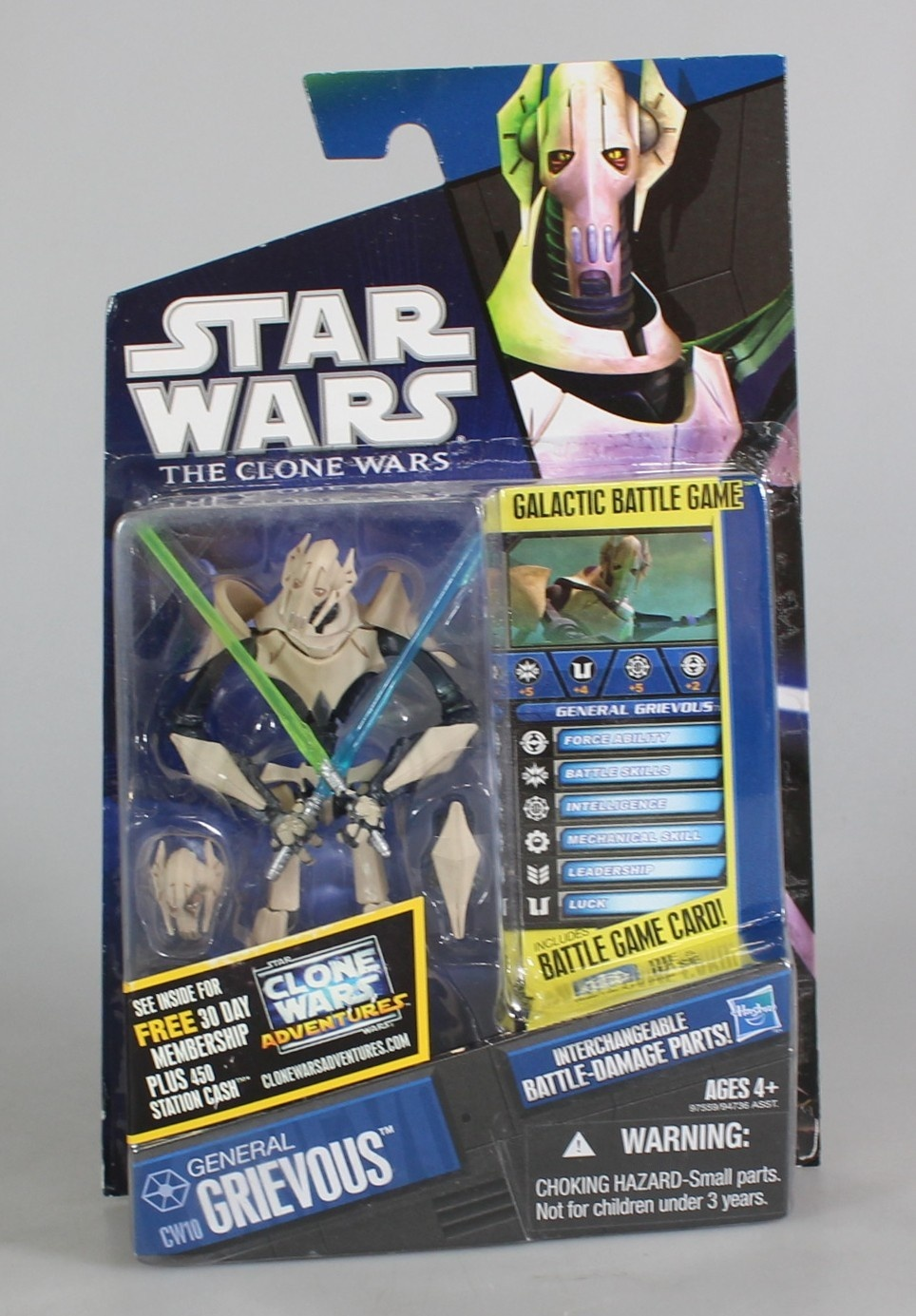 Star Wars Clone Wars General Grievous Action Figure By Hasbro Shop Online For Toys In Indonesia