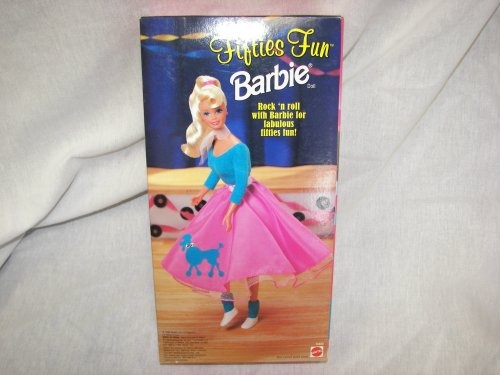 Barbie 1996 Fifties Fun Doll By Mattel Shop Online For Toys In The United States