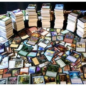 MTG HUGE LOT 100 RARES MAGIC THE GATHERING COLLECTION