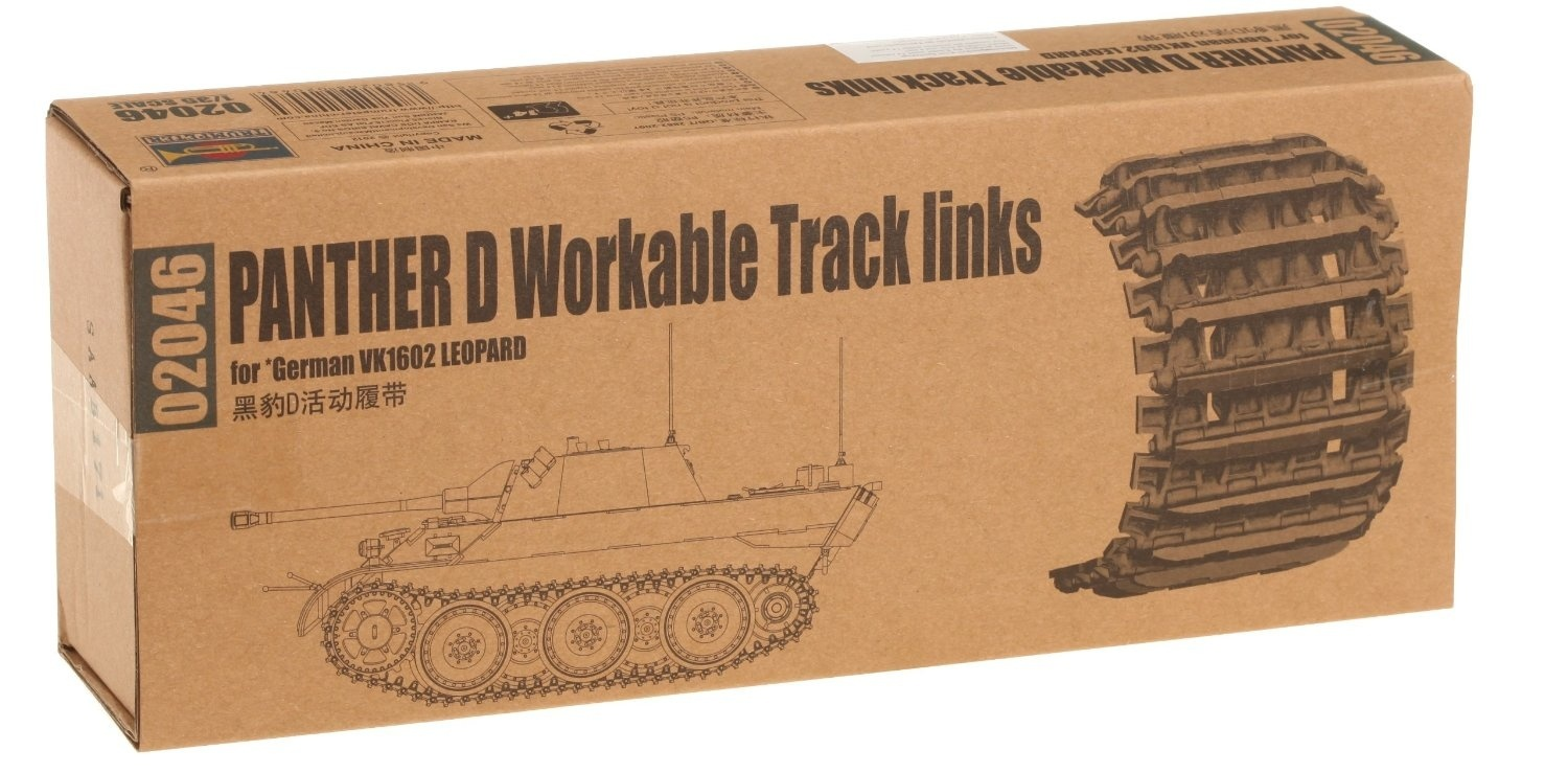 Trumpeter 1//35 02046 Panther D Workable Track Links