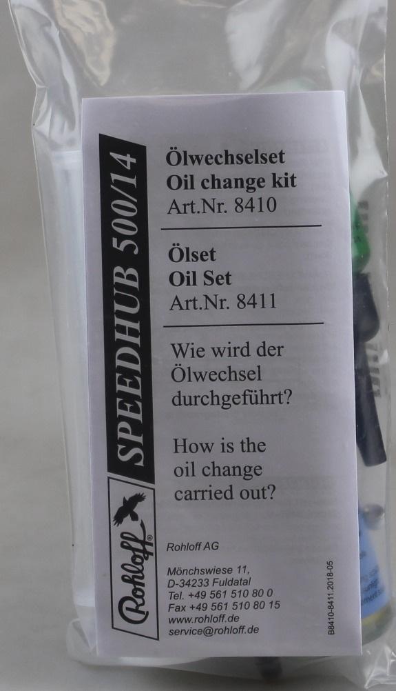Rohloff Speedhub Oil Change Kit