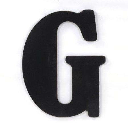 Munch Oversized Black Wood Letters I