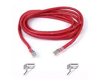 BELKIN cat5e 6ft red patch cord A3L791-06-RED