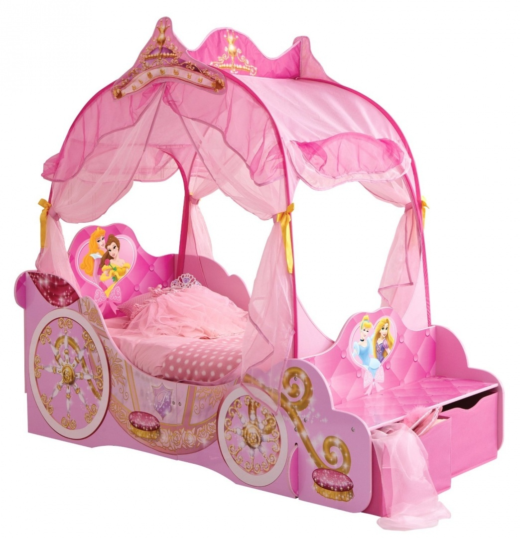 Disney Princess Carriage Kids Toddler Bed By Hellohome By Disney Princess Shop Online For Homeware In The United States
