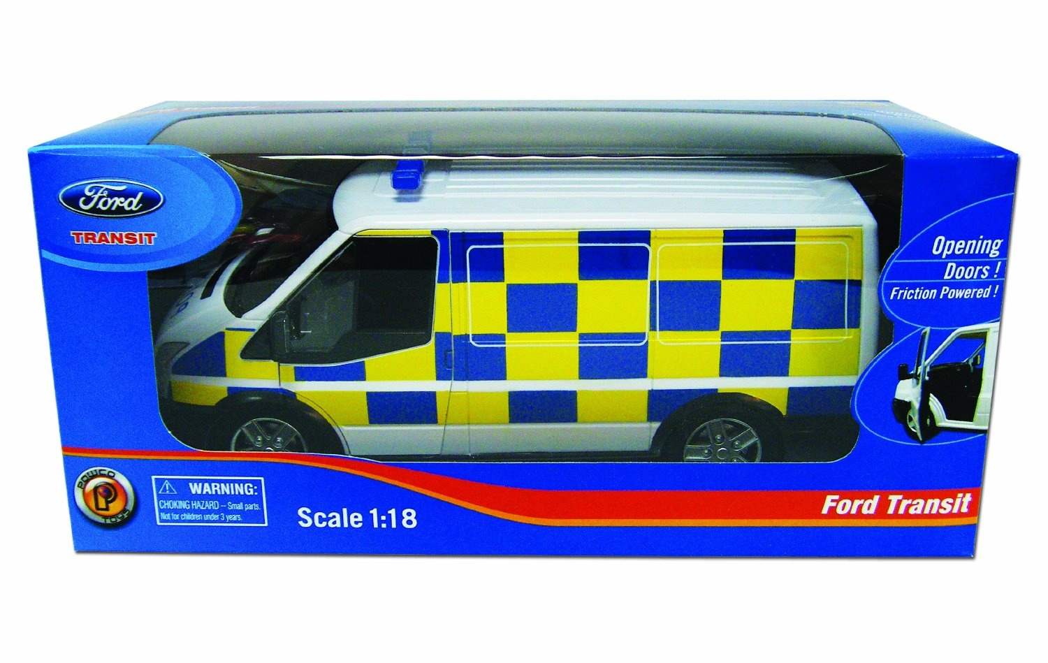Powco Toys 1:18 Scale Friction Powered