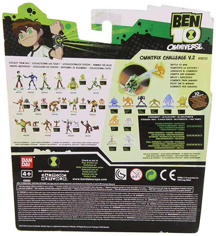 7 X Ben 10 Omniverse 10cm Alien Collection Figure Upgrade Malware By Ben 10 Shop Online For Toys In The United Arab Emirates