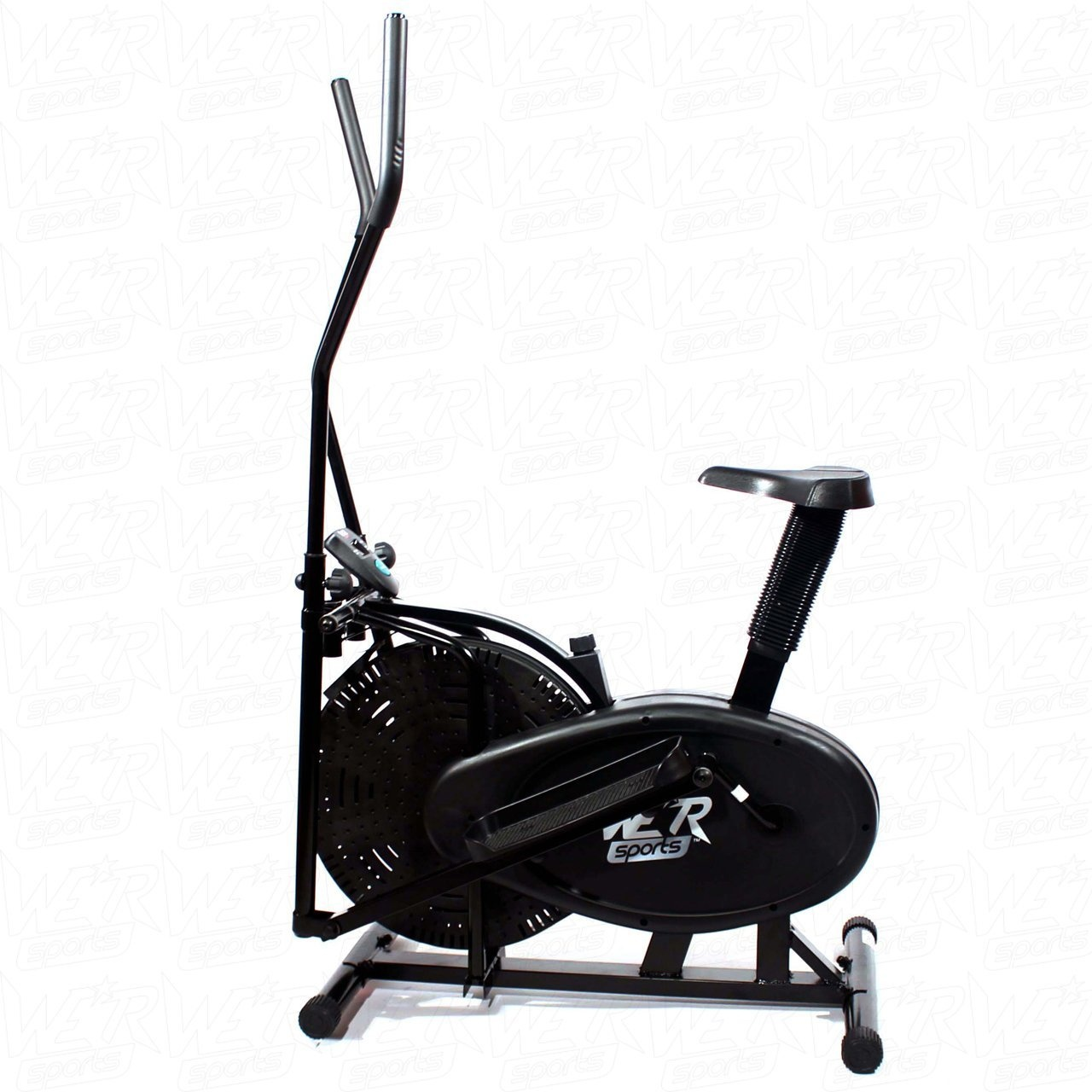 We R Sports 2-IN-1 ELLIPTICAL CROSS TRAINER /& EXERCISE BIKE FITNESS CARDIO WORKOUT WITH SEAT