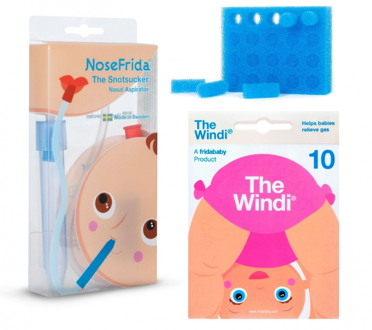 Healifty 100PCS Nasal Aspirator Hygiene Filters Replacement for NoseFrida Nose Frida Aspirator Filters Baby Care Accessories