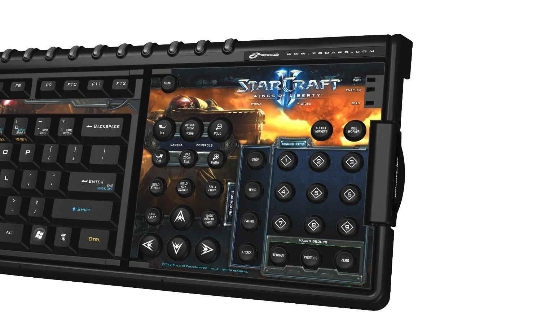 Starcraft II Edition Starcraft 2 Keyboard SteelSeries Zboard Gaming Keyboard
