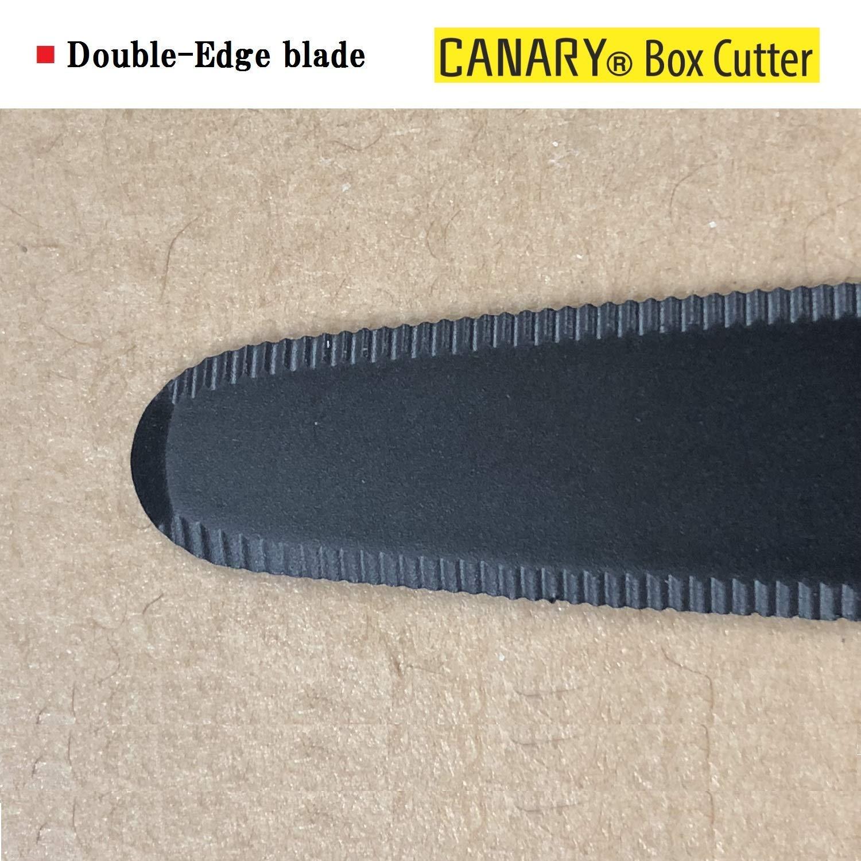 New Canary Box Cutter Dan-Chan DC-190F Yellow