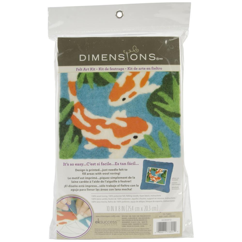 Dimensions 72-73795 Feltworks Needle Felting Kit-Dog