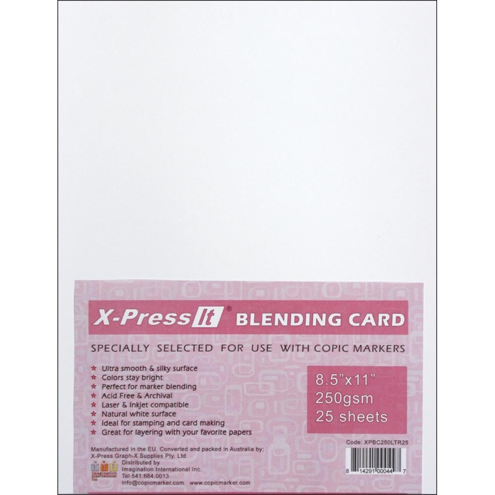 Copic Markers 22cm By 28cm Blending Card By X Press It 25