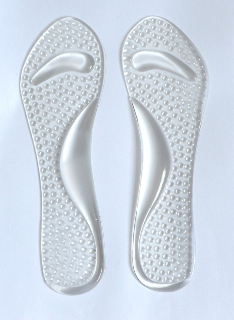 Party Feet Ladies Gel Insoles With Arch Support and Hammer Toe Crest Cushion