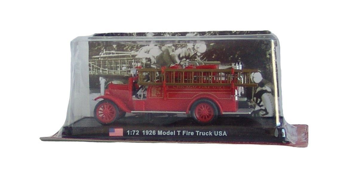 Amercom SF-6 1900 diecast 1:43 fire truck model Pompe Automobile Electrique France