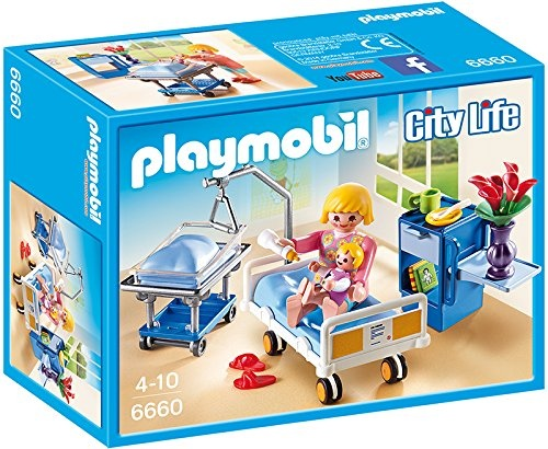 Playmobil 6661 City Life Doctor with Child