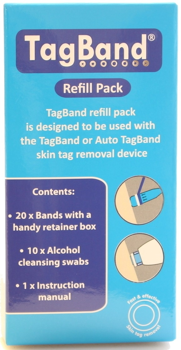 Tagband Refill Band Pack For Skin Tag Remover Device By Tagband