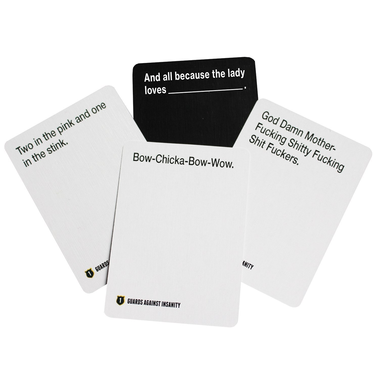 Edition 3 An Unofficial Naughty Expansion Pack for CAH Guards Against Insanity