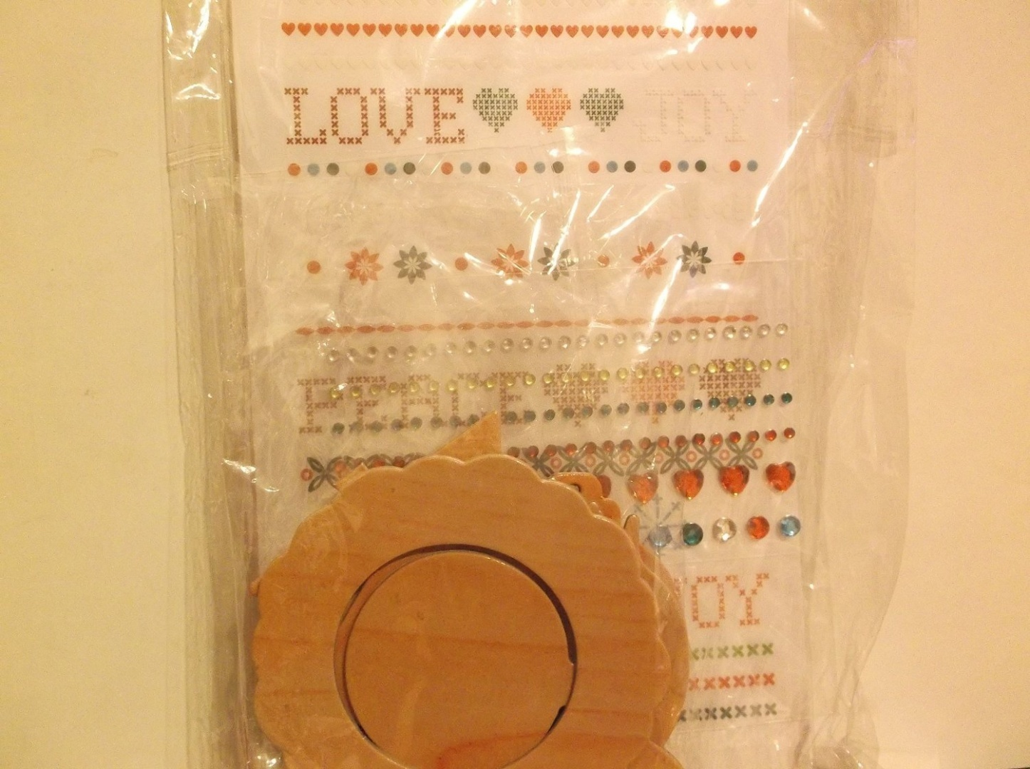 Prima Marketing 655350548520 Mari Collection Melody Scrapbooking Embellishments