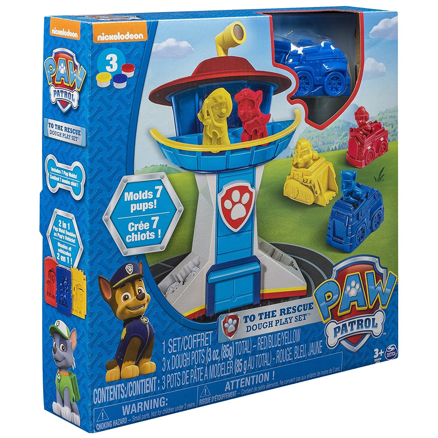 Play Doh Nickelodeon Rescue Marshall Play Set Play Doh Plus Compound
