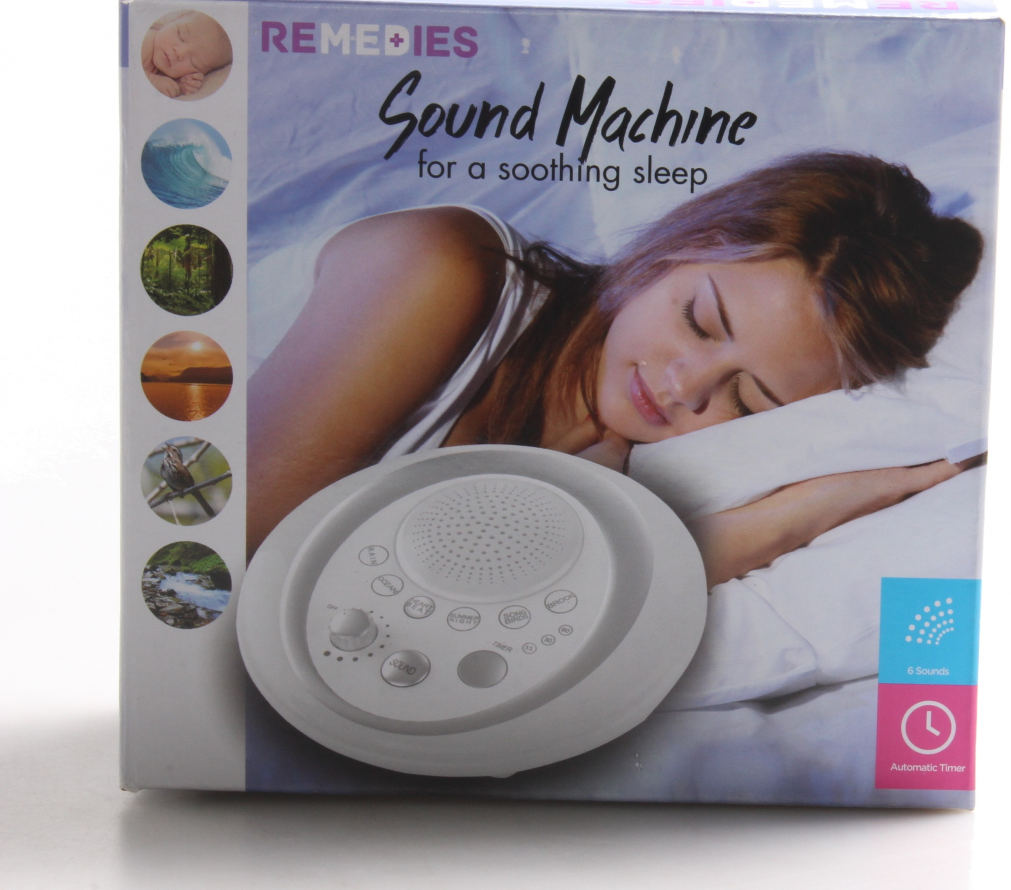 Haokaini Baby Sleep Soother Sound Machine Portable White Noise Sound Machine with 12 Soothing Sounds and 3 Timers Shusher for Traveling Sleeping Baby Carriage