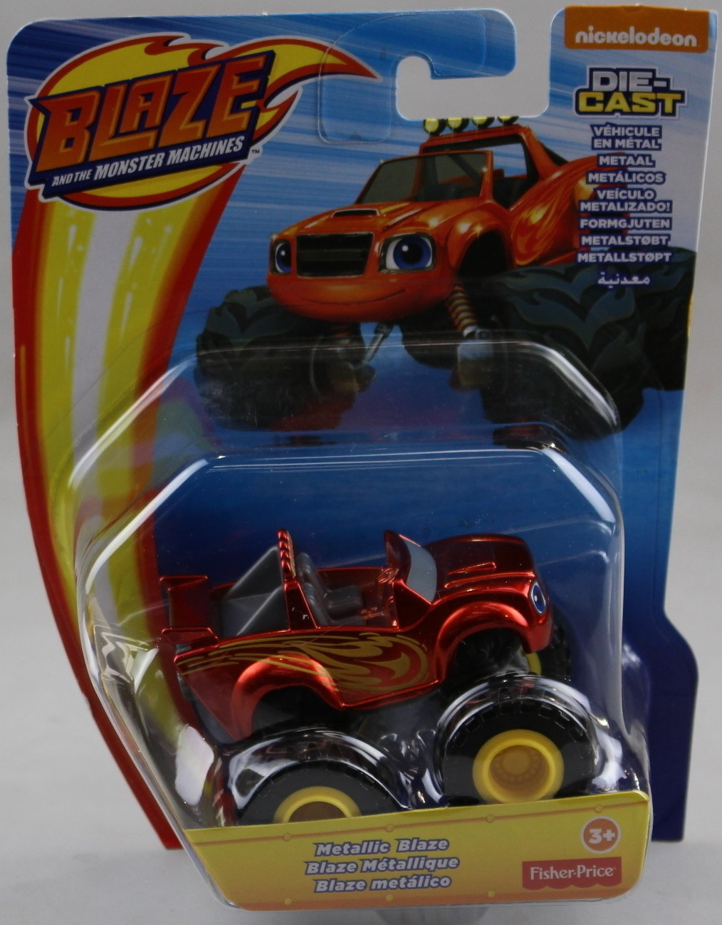 Fisher Price Nickelodeon Blaze And The Monster Machines Metallic Blaze Vehicle By Fisher Price Shop Online For Toys In The United States
