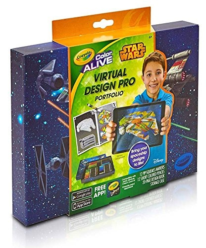 Crayola Colour Alive Star Wars Virtual Design Pro Portfolio By Crayola Shop Online For Toys In The United States