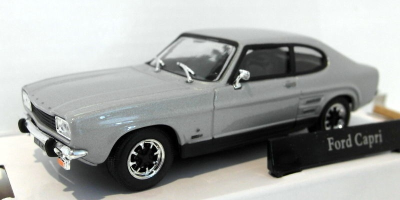 CARARAMA CR041-1//43 SCALE FORD CAPRI MK1 SILVER FOX MODEL CAR