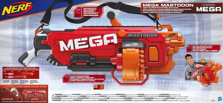 Hasbro Nerf B8086EU40 N Strike Elite Mega Mastodon