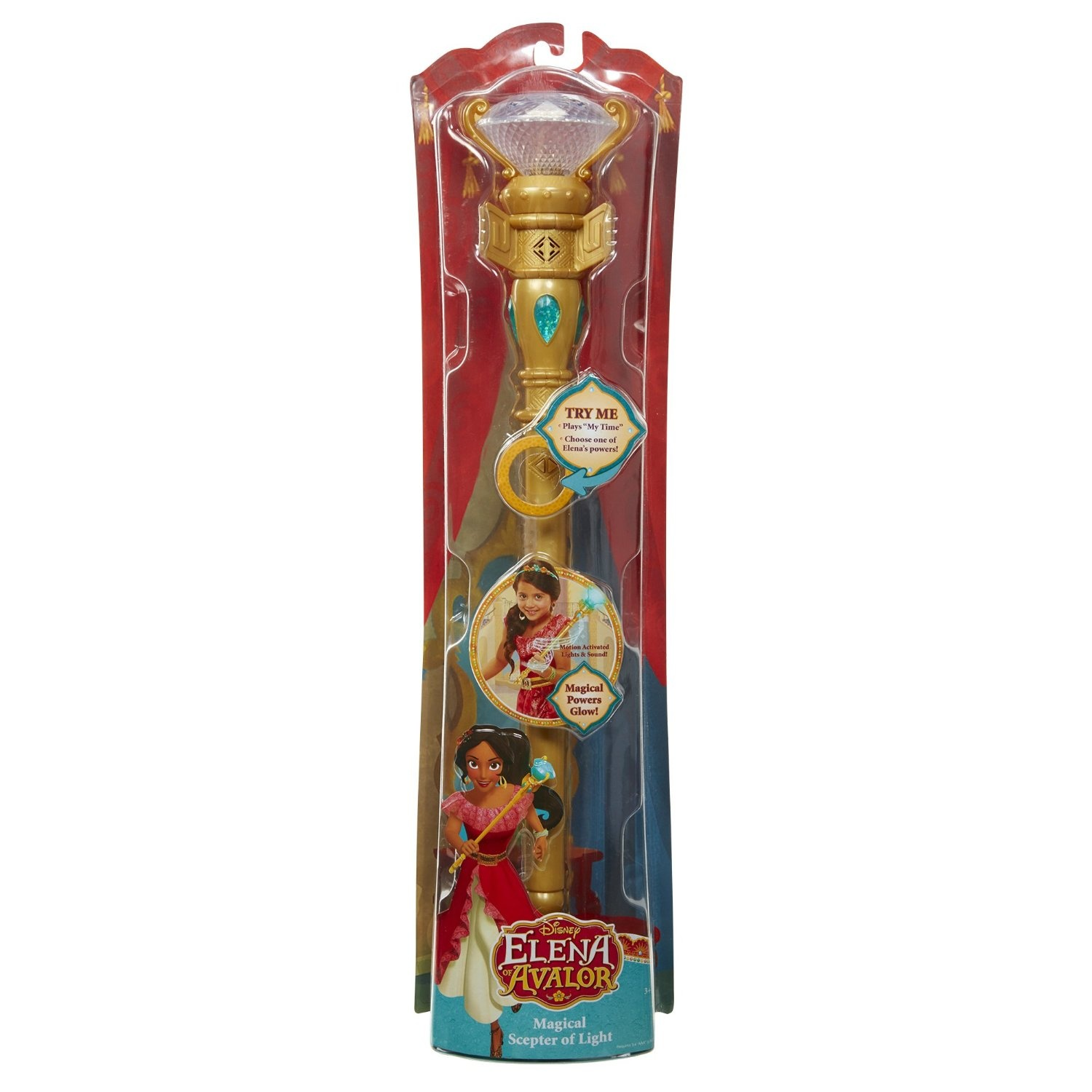 Elena with Scepter of Light US Exclusive Pop Vinyl Elena of Avalor RS -FU...