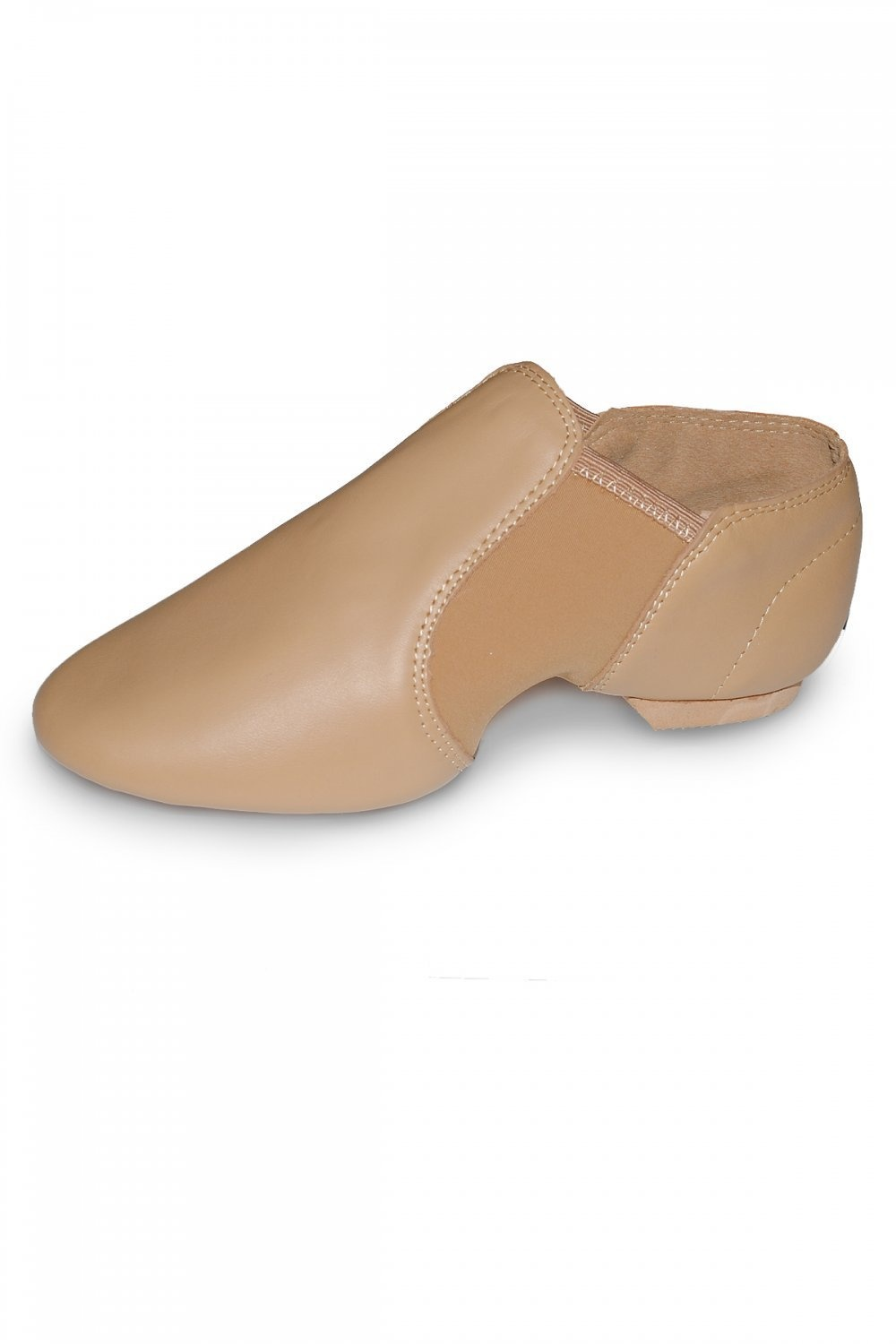 Roch Valley Leather Slip On Jazz Dance Shoes Flesh Colour Neoprene Arches Split Rubber Sole Child and Adult Sizes