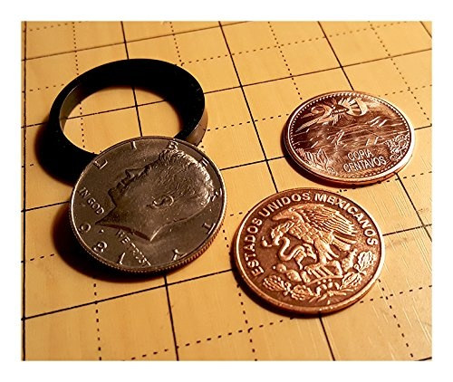 Centavo Set From Real Coins Best Coin Trick USA Scotch and Soda Magic Trick
