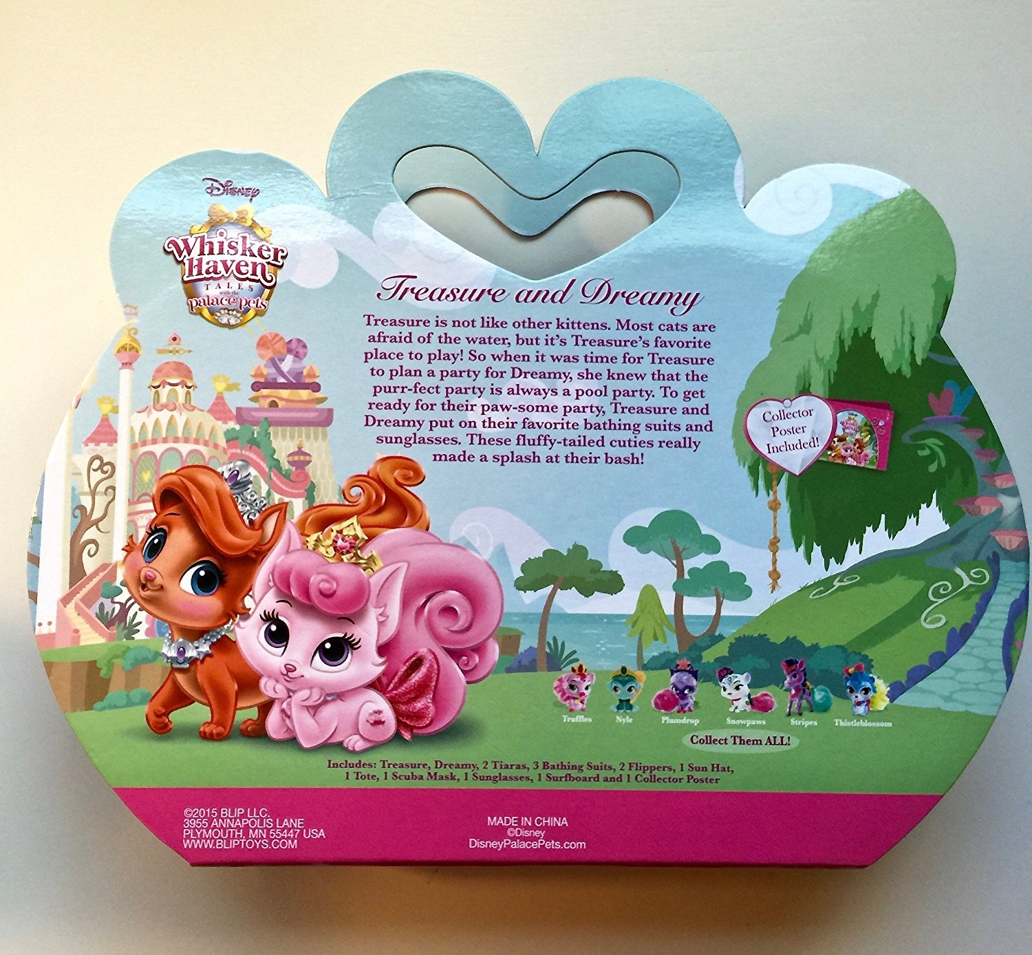 Disney Princess Palace Pets Whisker Haven Tales Treasure And Dreamy S Pool Party Playset By Blip Toys By Disney Shop Online For Toys In Indonesia