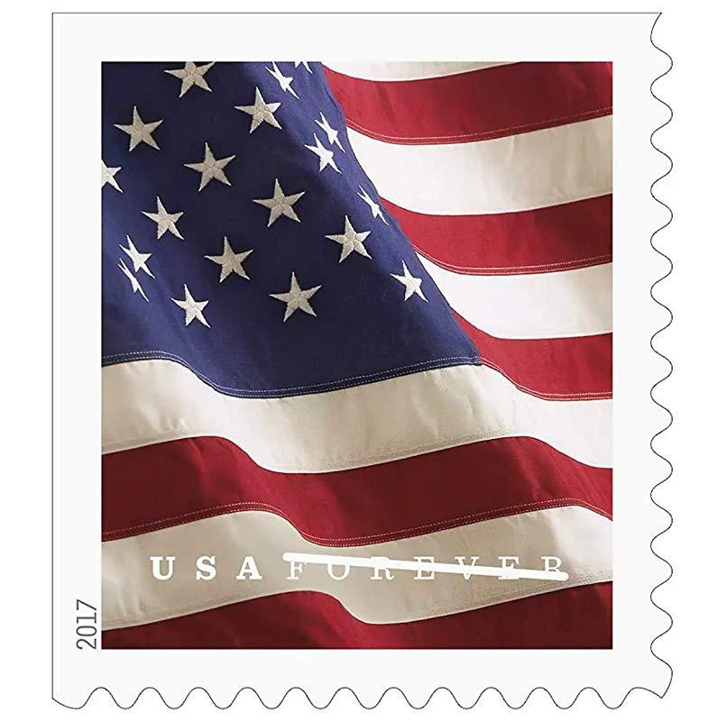 U S Flag Usps Forever Stamps Book Of 20 2017
