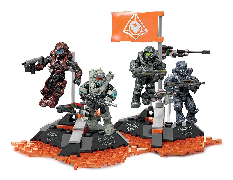 Mega Construx Figure Display Stand /& Flag from Fireteam Osiris set