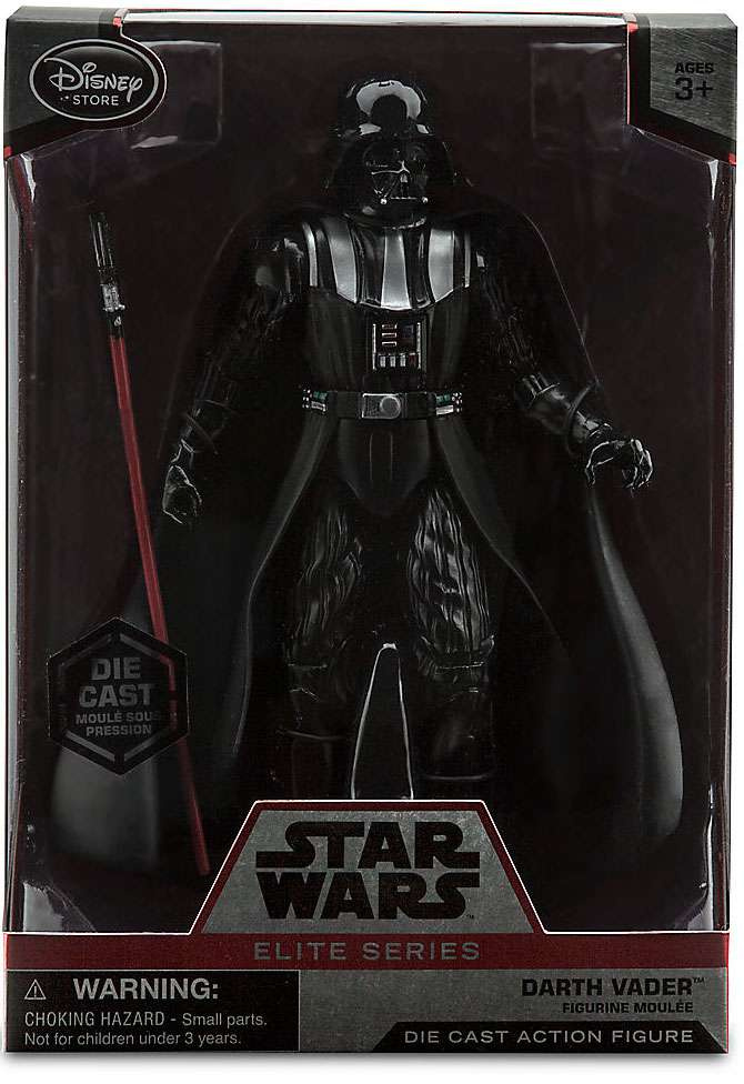 Disney Star Wars Elite Darth Vader Die Cast Action Figure 18cm Marvel By Disney Shop Online For Toys In The United States