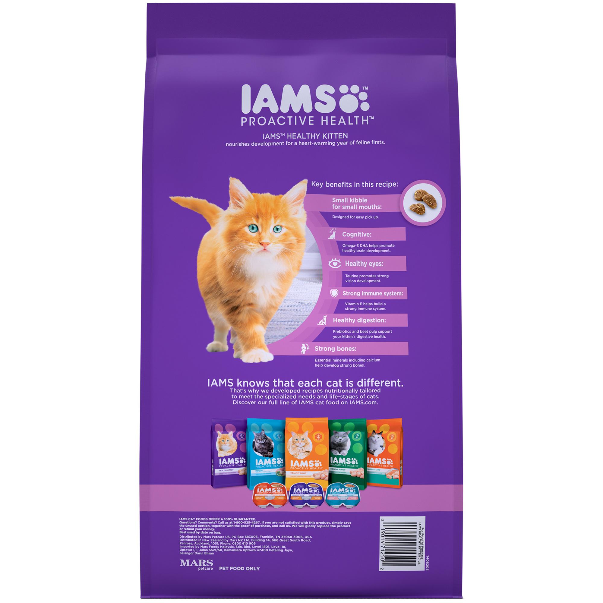 Iams Proactive Health Kitten Dry Cat Food By Iams Shop Online