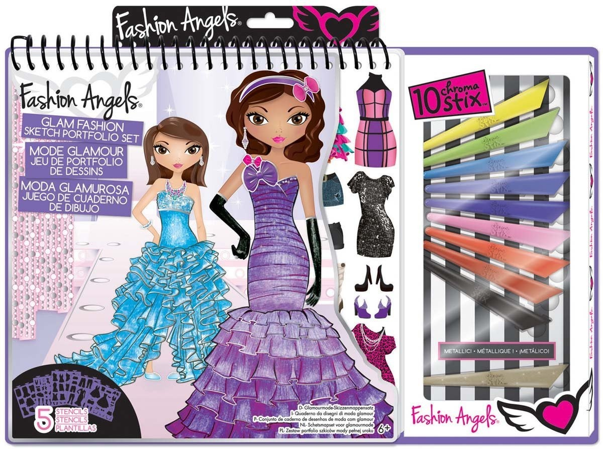 Fashion Angels Fashion Design Sketch Portfolio Artist Set By Fashion Angels By Fashion Angels Ent Shop Online For Toys In The United States