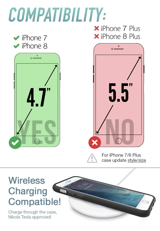 Silk iPhone 7/8 Grip Case - BASE GRIP Lightweight Protective Slim ...